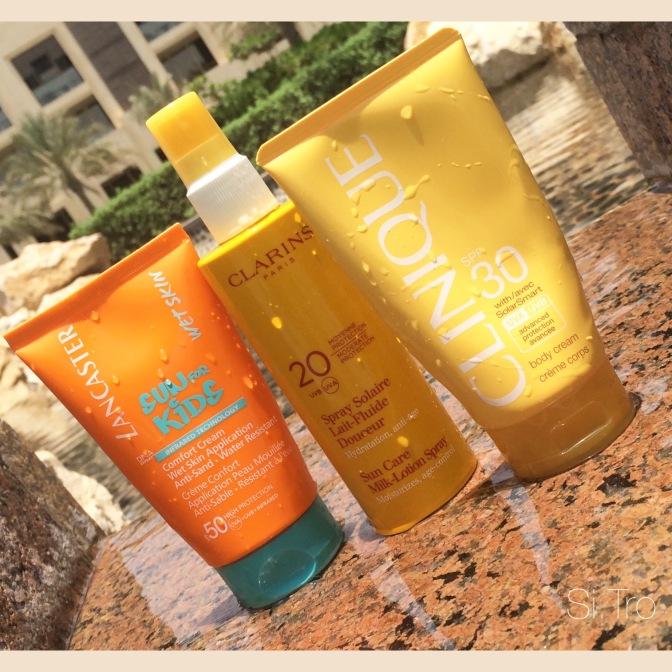Солнечные защитники или Sunscreens in motion