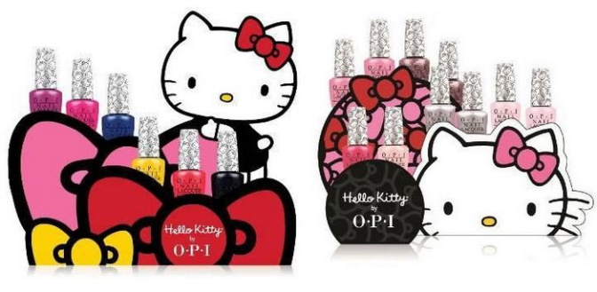 Hello Kitty by Opi — новая коллекция 2016