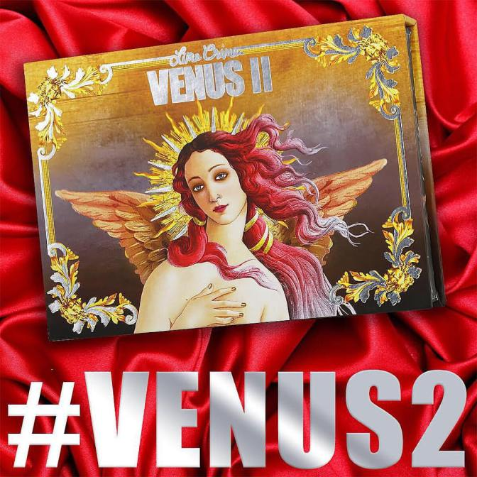 Новая палетка теней Venus II от Lime Crime