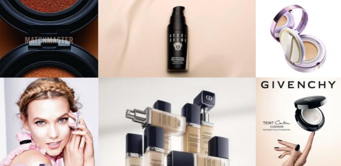 12 весенних новинок для макияжа лица: тональные средства